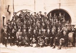 SACILE BANDA MUSICALE 1924 FRIULI FOTOGRAFIA ORIGINALE - Pordenone