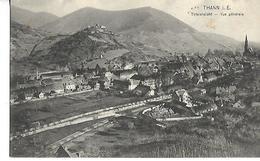 THANN  Non Stuée ! Montagne Vue Générale Du Village Cimetière Usine Chateau église - Cartes Postales