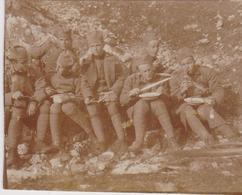 SERBIA, KINGDOM OF YUGOSLAVIA  -- ARMY IN  SARAJEVO  ~  S. R. O.  KADETTEN, PASINO BRDO  ~ 1930 ~  7,3 Cm X 6 Cm - Militaria