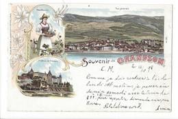 21385 - Souvenir De Grandson En 1900 Litho - VD Vaud