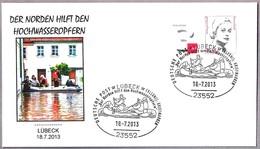 INUNDACIONES EN ALEMANIA 2013 - FLOODS IN GERMANY. Lübeck 2013 - Geología