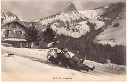 Montreux - Les Avants - Lugeurs - VD Vaud