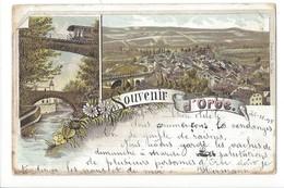 21387 - Souvenir D'Orbe En 1898 Litho - VD Vaud