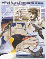 TAAF 2018 - Crozet Alfred Faure Souvenir Sheet Mnh - Tierras Australes Y Antárticas Francesas (TAAF)