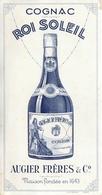 Buvard Ancien COGNAC ROI SOLEIL - AUGIER FRERES ET CO - Liqueur & Bière