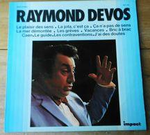 """Vinyle """"Raymond DEVOS"""" """"Le Plaisir De Sens"""" - Comiques, Cabaret"""