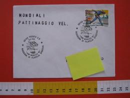 A.06 ITALIA ANNULLO - 1995 TRENTO PINE' MONDIALE '95 CAMPIONATI MONDIALI PATTINAGGIO SU GHIACCIO VELOCITA' BASELGA - Pattinaggio Artistico