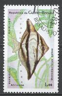 Guinea-Bissau 1983. Scott #498 (U) Fish, Monodactylus Sebae, Poisson * - Guinée-Bissau