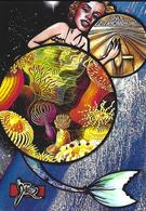 CPM Sirène Jihel Tirage Signé 30 Exemplaires Numérotés Signés Sous Marin Mermaid Triomphant - Fairy Tales, Popular Stories & Legends