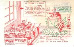 Buvard Ancien ASSURANCES A.DECOBERT - LILLE ET ARRAS - Banque & Assurance
