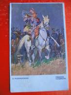 Z.ROZWADOWSKI.TREBACZ.TROMPETTE.Feldpost 2.world War.4.10.1939 - Poland