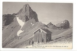 21392 - Cabane Rambert Et Le Petit Muveran - VD Vaud
