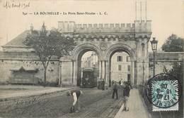 Lot 3 CPA 17 Charente Maritime La Rochelle Porte Saint Nicolas Cusenier Tour Lanterne Sortie Du Port - La Rochelle