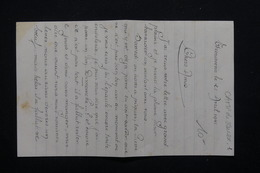 MILITARIA - Correspondance Particulière D'un Participant Du Camp De Jeunesse En 1941 - L 21510 - Documents