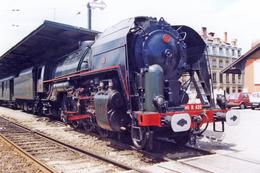 Lyon (69 - France) 9 Juin 1991 - La 141 R 420 En Gare De Lyon Pérrache - Trains