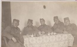SERBIA, KINGDOM OF YUGOSLAVIA  -- ARMY IN  SARAJEVO  ~  S. R. O.  KADETTEN, CENGIC VILA ~ 1930 ~  8 Cm X 6 Cm - Militaria