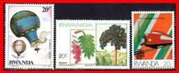 AFRICA../ RWANDA 2 STAMP AÑO 1984 - Rwanda