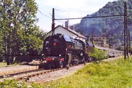 Cier De Luchon (31) 20 Août 2006 - La 141 R 1126 En Tête Du Train Spécial « Fête Des Fleurs » - Trains