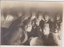 SERBIA, KINGDOM OF YUGOSLAVIA  -- ARMY IN  SARAJEVO  ~  S. R. O.  KADETTEN, CENGIC VILA ~ 1930 ~  7,7 Cm X 5,5 Cm - Militaria