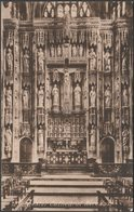 Reredos, Winchester Cathedral, Hampshire, C.1920s - Frith's Postcard - Winchester