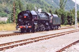 Luchon (31) 20 Août 2006 - La 141 R 1126 Manœuvre En Gare De Luchon - Trains