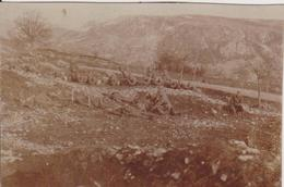 SERBIA, KINGDOM OF YUGOSLAVIA  -- ARMY IN  SARAJEVO  ~  S. R. O.  KADETTEN,  PASINO BRDO ~ 1930 ~  7,7 Cm X 5,5 Cm - Militaria