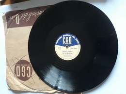 CGD  -  1958.  Serie  PV  Nr. 2292. Johnny Dorelli - 78 T - Disques Pour Gramophone
