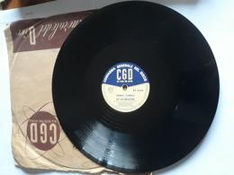 CGD  -  1958.  Serie  PV  Nr. 2292. Johnny Dorelli - 78 Rpm - Schellackplatten