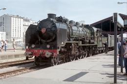 Troyes (10) 1er Juin 2003 - La 231 G 558 (Pacific Vapeur Club) Fait Le Plein D'eau En Gare De Troyes - Trains