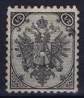 Österreichisch- Bosnien Und Herzegowina Mi. 1 Obl./Gestempelt/used    Perfo 10,5 - 1850-1918 Imperio