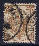 Österreichisch- Bosnien Und Herzegowina Mi. 7 A Obl./Gestempelt/used    Perfo 12.75 - 1850-1918 Impero