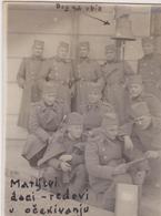 SERBIA, KINGDOM OF YUGOSLAVIA  -- ARMY IN  SARAJEVO  ~  S. R. O.  KADETTEN, BENDBASA  ~ 1930 ~  7,7 Cm X 5,7 Cm - Militaria