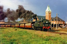 Colmar (68) 7 Mai 1995 - La 141 TB 424 En Tête D'un Train Spécial Metzeral/Volgelsheim. - Trains