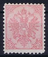 Österreichisch- Bosnien Und Herzegowina Mi. 16 Bx MH/* Flz/ Charniere Perfo 10,50  1900 - 1850-1918 Imperium