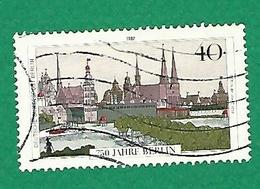 * 1987 N° 734 MONUMENTS BERLINOIS BERLIN EN 1650   OBLITÉRÉ TB - [5] Berlin