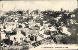 Cp Paris XVIII., Montmartre, Le Maquis En 1904, Vue Générale - France