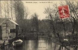 Cp Vendeuil Aisne, Les Bords De L'Oise, Ruderboot, Flusspartie - Frankrijk