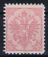 Österreichisch- Bosnien Und Herzegowina Mi. 16 Bx MH/* Flz/ Charniere Perfo 10,50 1900 - Ungebraucht