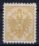 Österreichisch- Bosnien Und Herzegowina Mi. 18 MH/* Flz/ Charniere Perfo 10,50 1900 - Ungebraucht