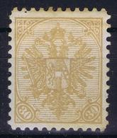 Österreichisch- Bosnien Und Herzegowina Mi. 18 MH/* Flz/ Charniere Perfo 10,50 1900 - 1850-1918 Imperium