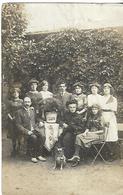CARTE POSTALE PHOTO Non Identifiée  Famille Photographe E DORE St Nazaire - Photographs