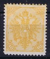 Österreichisch- Bosnien Und Herzegowina Mi. 19 A  MH/* Flz/ Charniere Perfo 12,50 - Ungebraucht