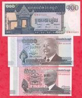Cambodge  6 Billets ----UNC/NEUF - Cambodia