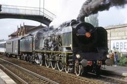 Abbeville (80 - France) Mai 1992 - Locomotive à Vapeur 231K8 - Trains