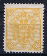 Österreichisch- Bosnien Und Herzegowina Mi. 19 A  MH/* Flz/ Charniere Perfo 12,50 - 1850-1918 Imperium