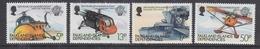 Falkland Islands Dependencies (FID) 1983 Bicentenary Of Manned Flight 4v ** Mnh (41706) - Zuid-Georgia