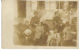 CARTE POSTALE PHOTO Non Identifiée  Famille TAD Ladoix Serrigny CÖTE D'OR - Photographie