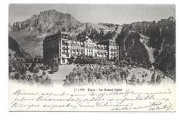 SUISSE... CAUX. Le Grand Hôtel - VD Vaud