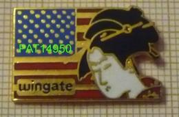 WINGATE GEISHA Sur DRAPEAU AMERICAIN En Version EGF - Badges
