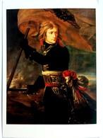 #544  ''Bonaparte At The Pont D'Arcole'' By Antoine-Jean Gros - Fine Art Picture Postcard 1983 - Pittura & Quadri